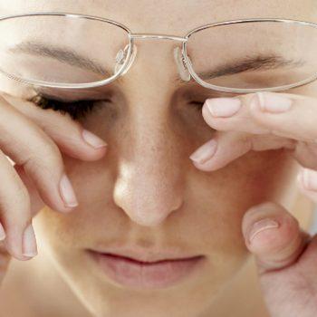 снижение зрения может быть не связано с заболеванием глаз